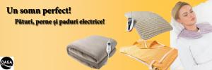 pături și perne electrice