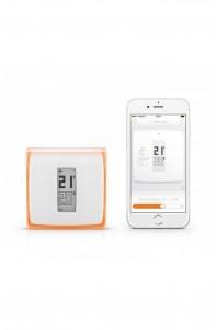 termostat inteligent fără fir netatmo